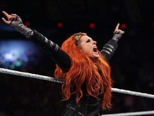 WWE Diva Becky Lynch