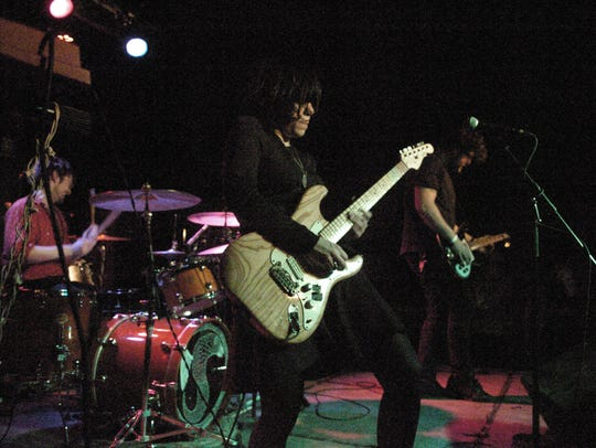 Screaming Females, pictured playing Asbury Lanes in