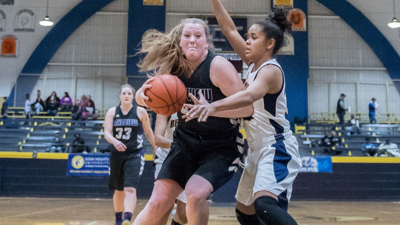 Some of the top highlights from the 2016-17 high school girls basketball season.