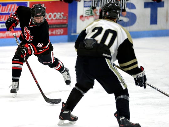 SPASH player Nick Norrgran attempts to score during