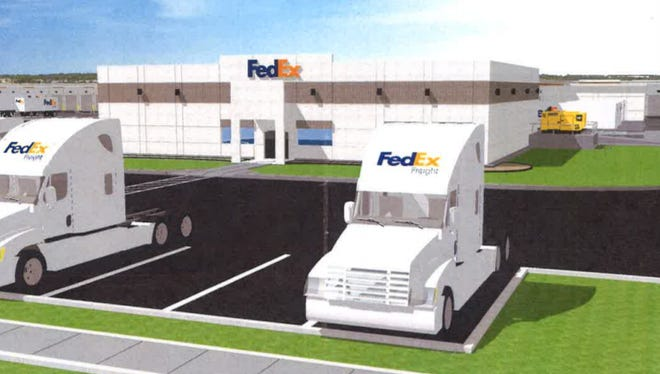 Construction is starting on a large FedEx truck terminal in Oak Creek. It will operate 24 hours a day, with 315 employees.
