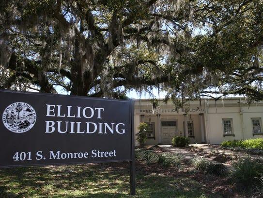 The Elliot building, marked for potential demolition