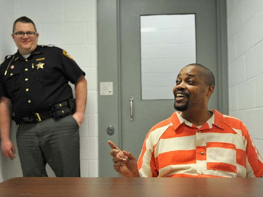 James Davis discusses the help and care that he has received during his time at the Richland County Jail.