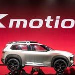 Detroit auto show photos:  Nissan Xmotion concept