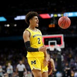 Jordan Poole halftime speech sparks Michigan to national title game