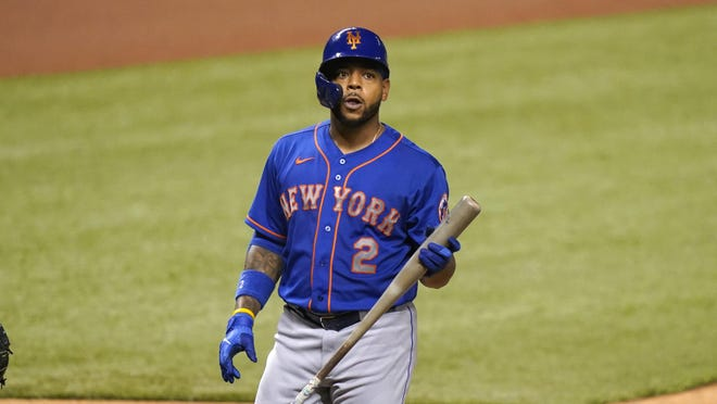 New York Mets' Dominic Smith is among the pro athletes to speak out on racial injustice.