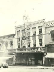Aschers Capitol Theatre exterior, date unknown.
