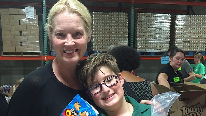Second Harvest Food Bank of Middle Tennessee offers volunteer opportunities for children as young as 6 to volunteer with their families.