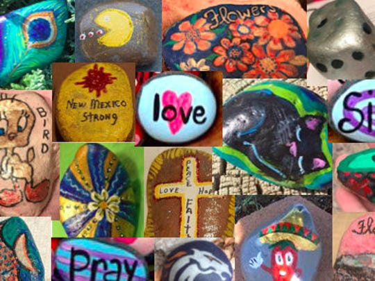 Rocks can come in any shape, colors or sizes to play the Deming Rocks! Game in Deming and Luna County.