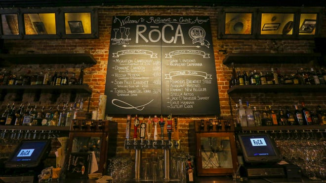 RoCA, 208 Court Ave. in Des Moines, the much-hyped new restaurant and cocktail bar, opened Oct. 22. RoCa, 208 Court Ave. in Des Moines is a new restaurant with lots of hype and a makeover, shown here Wednesday Oct. 22, 2014.
