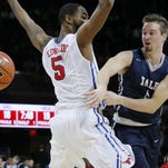 Yale basketball player Jack Montague, right, was expelled because of a sexual assault allegation. Montague, who claims the sexual encounter was consensual, said he plans to sue the school.