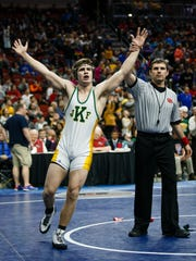 Ben Sarasin, a 2018 state champ for Cedar Rapids Kennedy, became a Division III All-American for the University of Chicago this weekend.