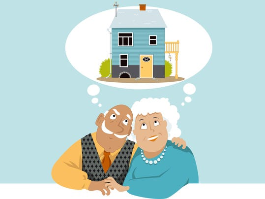 Downsizing a home is a process that takes preparation