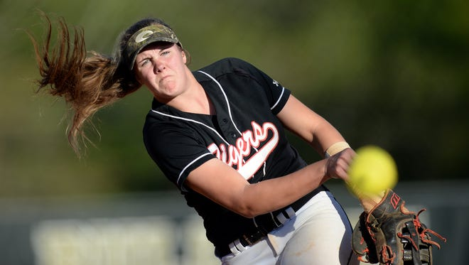 Blue Ridge's Gabi Howard has been named to the Class AAAA all-state team.