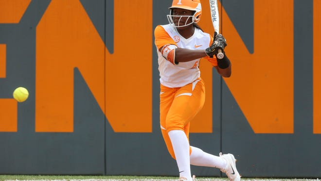 Tennessee junior CJ McClain tied her career-high with three hits to help the Vols beat N.C. State 6-1 on Sunday at Sherri Parker Lee Stadium.