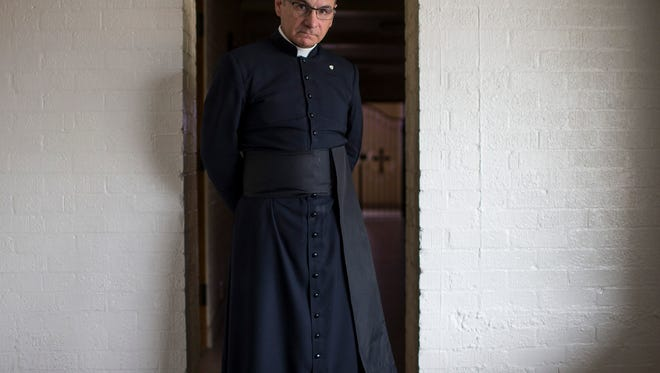 Father Joseph Terra survived a robbery  and attack that killed Father Kenneth Walker at the Mater Misericordiae  Mission. The attack left him badly beaten.