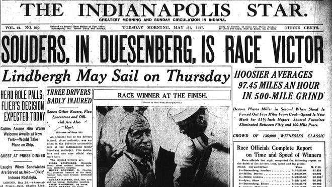 1927 Indianapolis Star