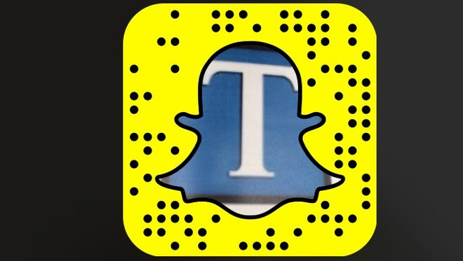 Follow tennessean1907 on Snapchat by opening the app on your phone, and pointing the camera at our ghost and tapping your screen.