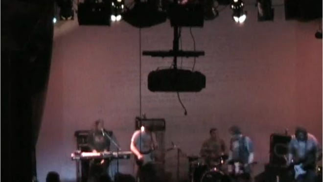 A still from a Necropolis video filmed at Alive's Bands to Watch in 2005