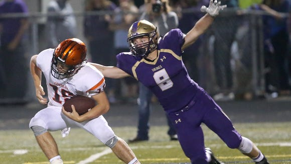 North Kitsap's football team plays Olympic at Silverdale