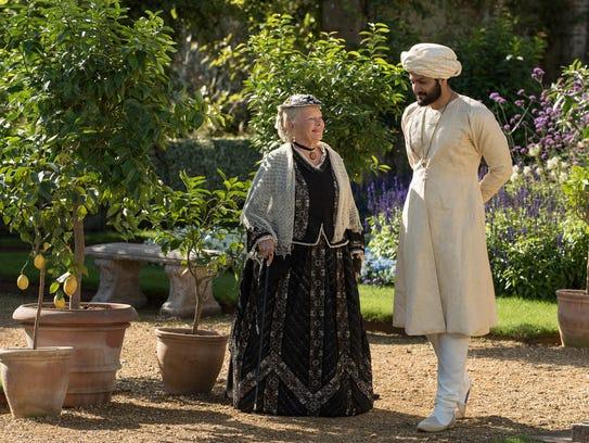 """Judi Dench and Ali Fazal in """"Victoria and Abdul."""""""