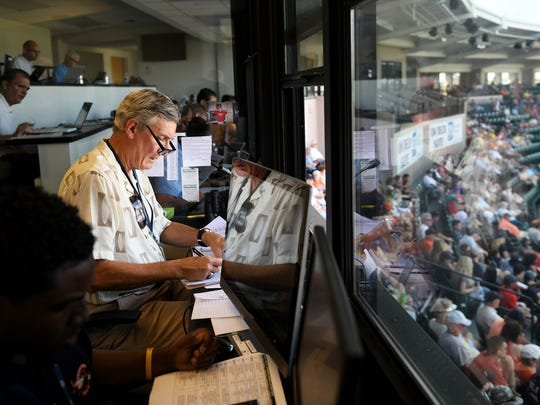 Tigers public-address announcer Bobb Vergiels has decided to retire.