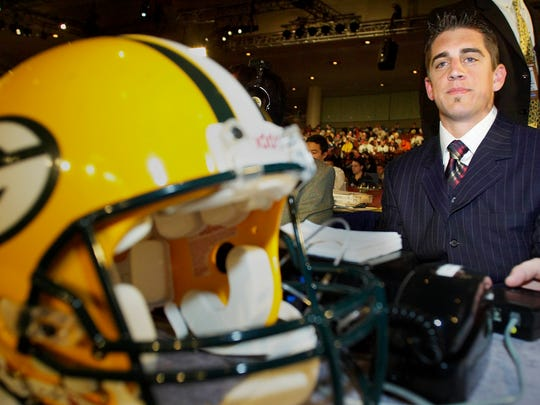 Aaron Rodgers famously slid to the 24th pick in 2005, though plenty of fans were wondering aloud why the team would go quarterback when it had a perfectly capable Hall of Fame gunslinger in that spot.
