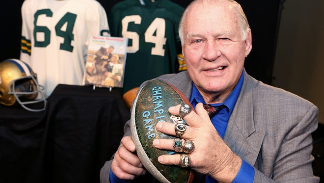 Jerry Kramer put more than 50 personal items up for auction.