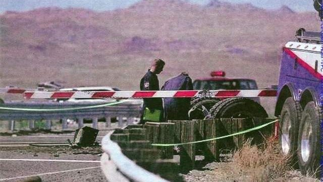 John Davis Trucking Company said in a motion that Union Pacific replaced this crossing gate at the site of the Amtrak crash instead of preserving it as evidence.