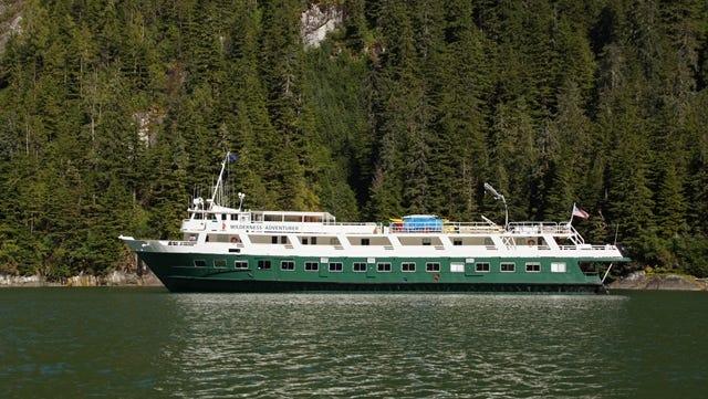 Un-Cruise Adventures' 60-passenger Wilderness Adventurer.