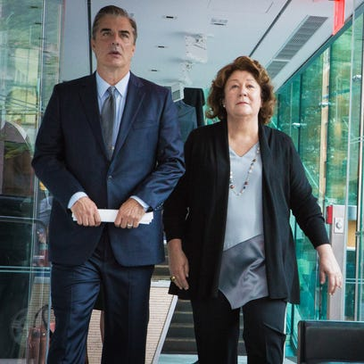 Chris Noth as Peter Florrick and Margo Martindale as