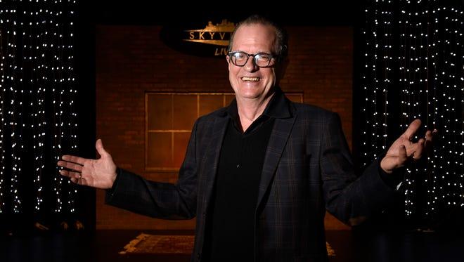 Wally Wilson, founder of Skyville Live online concert series is preparing for a show including Little Big town, Taj Majal, Chris Stapleton and Gregg Allman. Monday Dec. 7, 2015, in Nashville, Tenn.