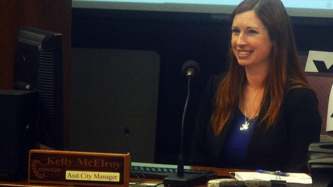 Newton assistant city manager Kelly McElroy was promoted last week to city manager. McElroy has been serving in the capacity on an interim basis since the beginning of the year. She also spent the last four years as the city's development director.