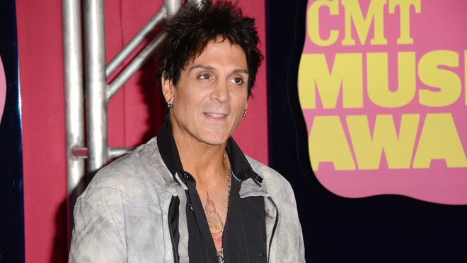 Deen Castronovo of Journey arrives at the 2012 CMT Music awards at the Bridgestone Arena on June 6, 2012 in Nashville, Tennessee.