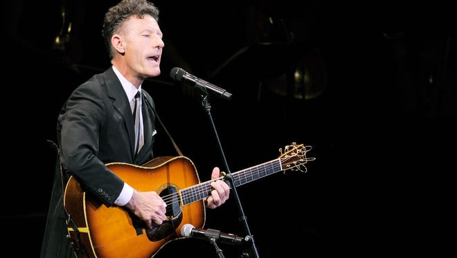 Lyle Lovett is joined by Emmylou Harris at CMAC.