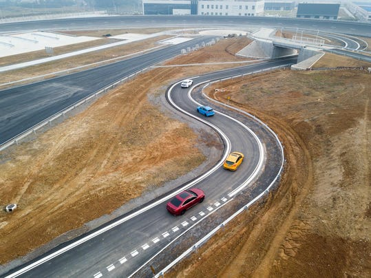 Ford Nanjing Test Center and New Creative Hub 5