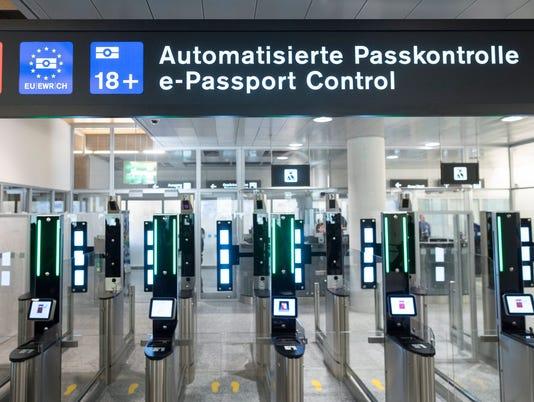 EPA SWITZERLAND AIRPORT AUTOMATED PASSPORT CONTROL EBF TRANSPORT SWI ZU
