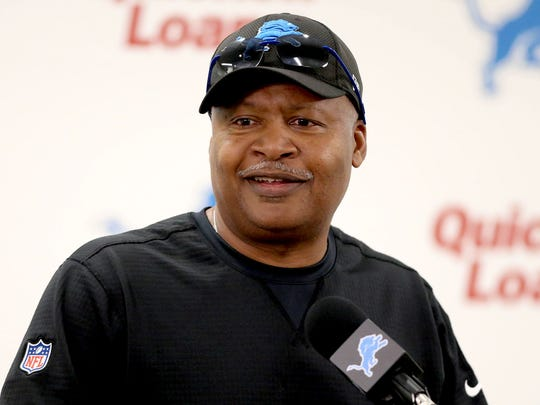 Jim Caldwell, Detroit Lions head coach .
