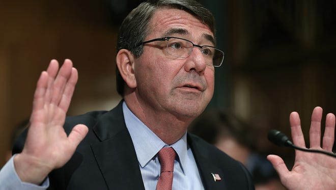 Defense Secretary Ash Carter announced June 9, 2015, that gay and lesbian troops for the first time will be protected from discrimination by the Pentagon's equal opportunity policy.