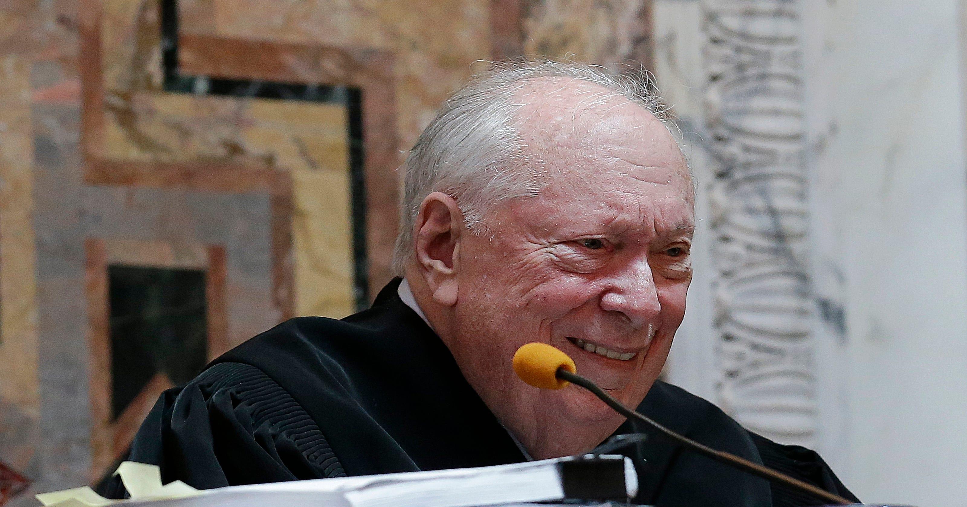 Liberal US judge who struck down 'under God' in pledge dies