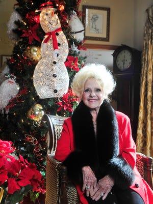 Brenda Lee talks Christmas at her home Wednesday, Dec. 2, 2015, in Nashville.