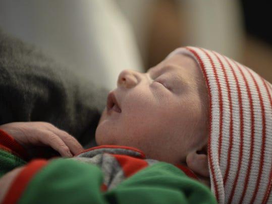 Minnesota Christmas Baby