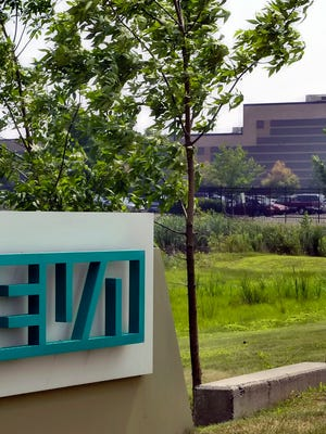 File photo taken in 2005 shows the Horsham, Pa., offices of Teva Pharmaceuticals North America.