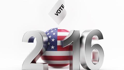 Nov 8 2016 Presidential Election In USA