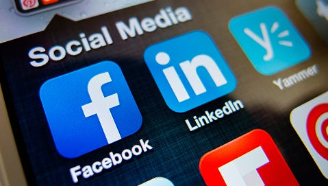 Thirty-five percent of colleges report turning to social media to learn more about prospective applicants.