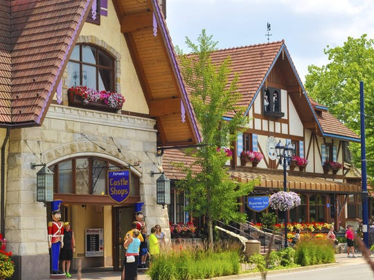 Frankenmuth's German heritage is evidenced in its cuisine,