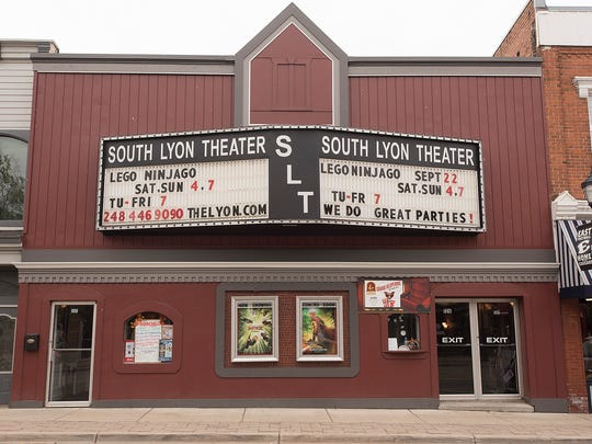The facsde has a face-lift The theater is on East Lake Street in downtown South Lyon.