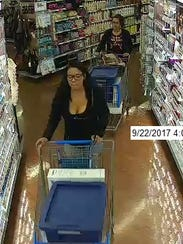 New York State Police are looking for two women suspected