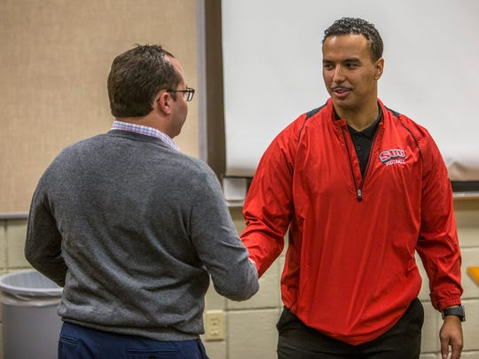 Southern Utah's athletic director Jason Butikofer welcomes