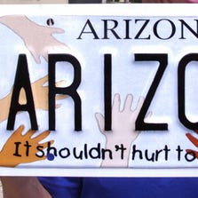 Arizona's Child Abuse Prevention specialized license plate was the sixth most popular in fiscal 2014.